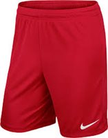 Nike Youth Park II Knit Short N/Brief - University Red/White