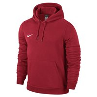 Nike Youth Team Club Hoody - University Red/University Red/Football White