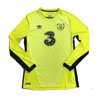 Umbro Ireland FAI Goalkeeper Jersey LS - Yellow