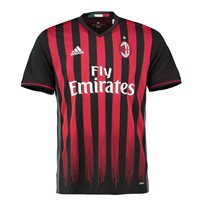 Adidas AC Milan Home Jersey 2016/17 - Red/Black