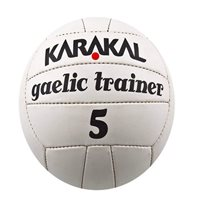 Karakal Gaelic Trainer Football - White
