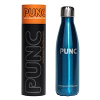Punc 500ml Double Insulated Stainless Steel Bottle - Blue