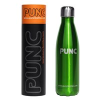 Punc 500ml Double Insulated Stainless Steel Bottle - Green
