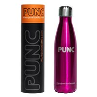 Punc 500ml Double Insulated Stainless Steel Bottle - Pink