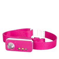 SilverPoint Spark USB Rechargeable Head Torch - Pink