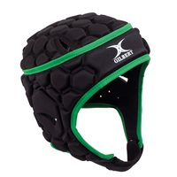 Gilbert Falcon 200 Headguard - Black/Green