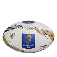 Gilbert Champions Cup Rugby Supporters Ball - White/Blue/Gold