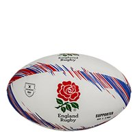 Gilbert England Rugby Supporters Ball - White/Red/Blue
