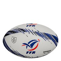 Gilbert France Rugby Supporters Ball - White/Blue/Red