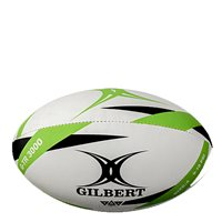 Gilbert G-TR3000 Rugby Training Ball - White/Green/Black