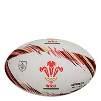 Gilbert Wales Rugby Supporters Ball - White/Red/Yellow