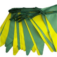 TCF 10meters Bunting - Green/Gold