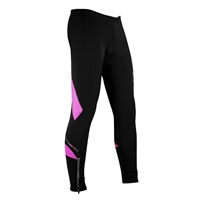 Optimum Ladies Nitebrite Cycling Leggings - Black/Fluoresent Pink