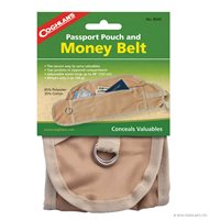 Coghlans Money Belt - Brown