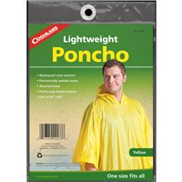 Coghlans Lightweight Poncho - Yellow