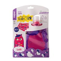 Vapur Kids Lolli Foldable Bottle - Pink