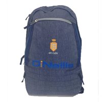 ONeills Clare GAA Backpack - Grey