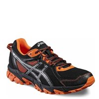 Asics Mens Gel Sonoma 2 -  Black/Orange/Silver