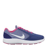 Nike Womens Revolution 3 - Navy/White/Pink