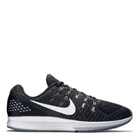 Nike Mens Air Zoom Structure 19 -  Black/White