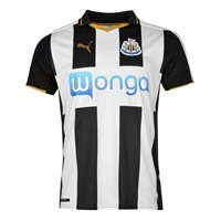 Puma Newcastle United FC Home Jersey 2016/17 - Black/White/Gold