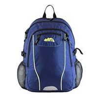 Ridge 53 Pearse Backpack - Navy/Flor Yellow