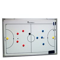 Precision Training Futsal Football Tactics Board 30 x 45cm - White