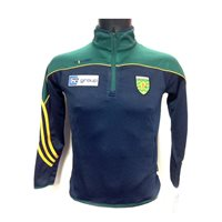 ONeills Donegal GAA 2016 Parnell 1/4 Zip Trainin - Navy/Bottle/Amber