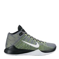 Nike Zoom Ascention Basketball Boot -  Grey/Green/Black