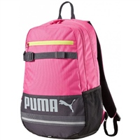 Puma Deck Backpack -  Pink/Navy
