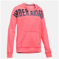 Under Armour Girl's Favorite Fleece Hoodie -  Pink