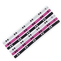 Under Armour Mini Headbands (6pk) -  Black/Pink/White