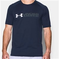 Under Armour Mens Fade Away S/S T-Shirt -  Navy
