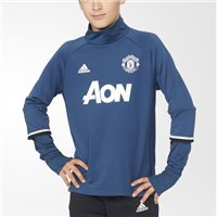 Adidas Manchester United MUFC Training Top - Kids - Navy/White