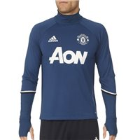 Adidas Manchester United MUFC Training Top - Navy/White
