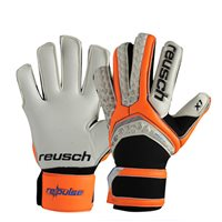 Reusch Pulse Pro X1Goalkeeper Gloves - White/Orange/Black