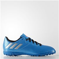 Adidas Messi 16.4 Turf TF Football Boots - Kids - Royal/Silver