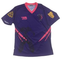 Briga Irish Dancing Jersey - Purple/Pink/Gold