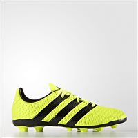 Adidas Ace 16.4 FxG Football Boots - Kids - Shock Yellow/Black