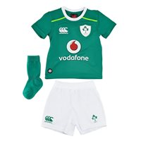 Canterbury IRFU Ireland Rugby Infants Kit 2016/17 - Green/White