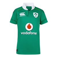 Canterbury IRFU Ireland Rugby Kids Home Jersey 16/17 - Green