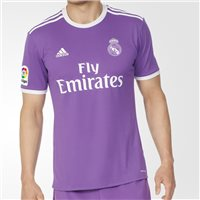 Adidas Real Madrid Away Jersey 2016/17 - Purple/White
