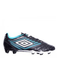 Umbro Medusa Club HG Hard Ground Football Boots - ECG Black/Cyan