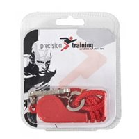 Precision Training Plastic Whistle & Lanyard - Various