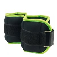 Ultimate Fitness Ankle/Wrist Weights 0.5kg - Pair - Black/Green