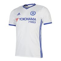 Adidas Chelsea CFC 3rd Jersey 2016/17 - Kids - White/Royal