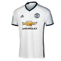 Adidas Manchester United MUFC 3rd Jersey 16/17 - White/Grey