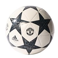 Adidas Finale 16 MUFC Capitano Soccer Ball - White/Grey