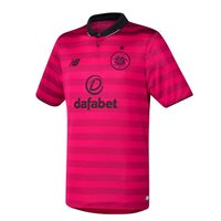 New Balance Celtic FC 3rd S/S Jersey 2016/17 - Pink/Black