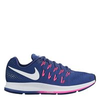 Nike Womens Air Zoom Pegasus 33 -  Navy/Pink/White